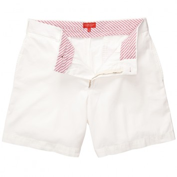 Club Short - White